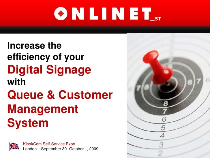 Efficient Digital Signage With Queue Management System