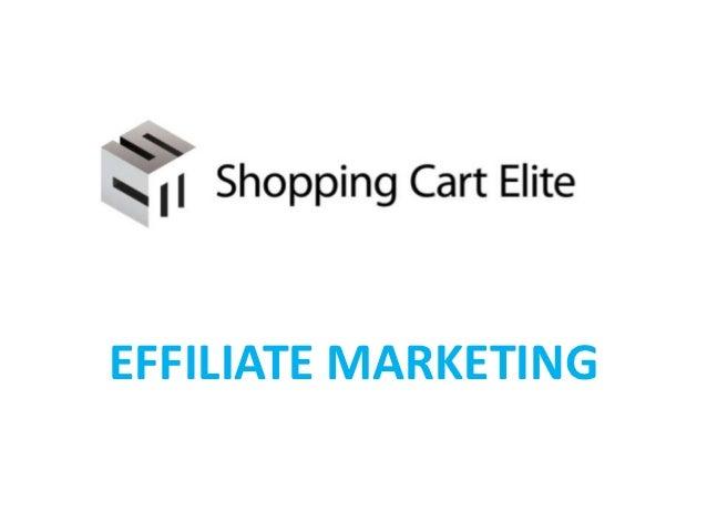 Effiliate Marketing Introduction