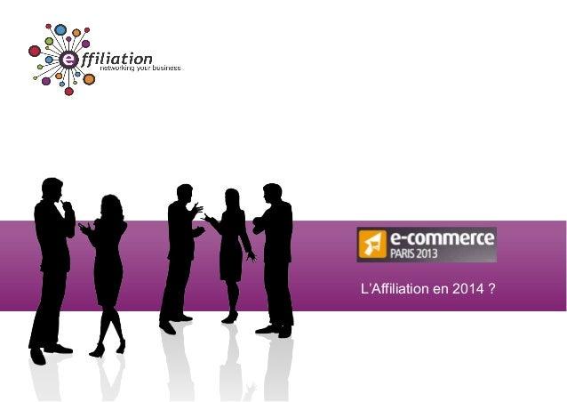 Effiliation lnnovation-en affiliation-en-2014