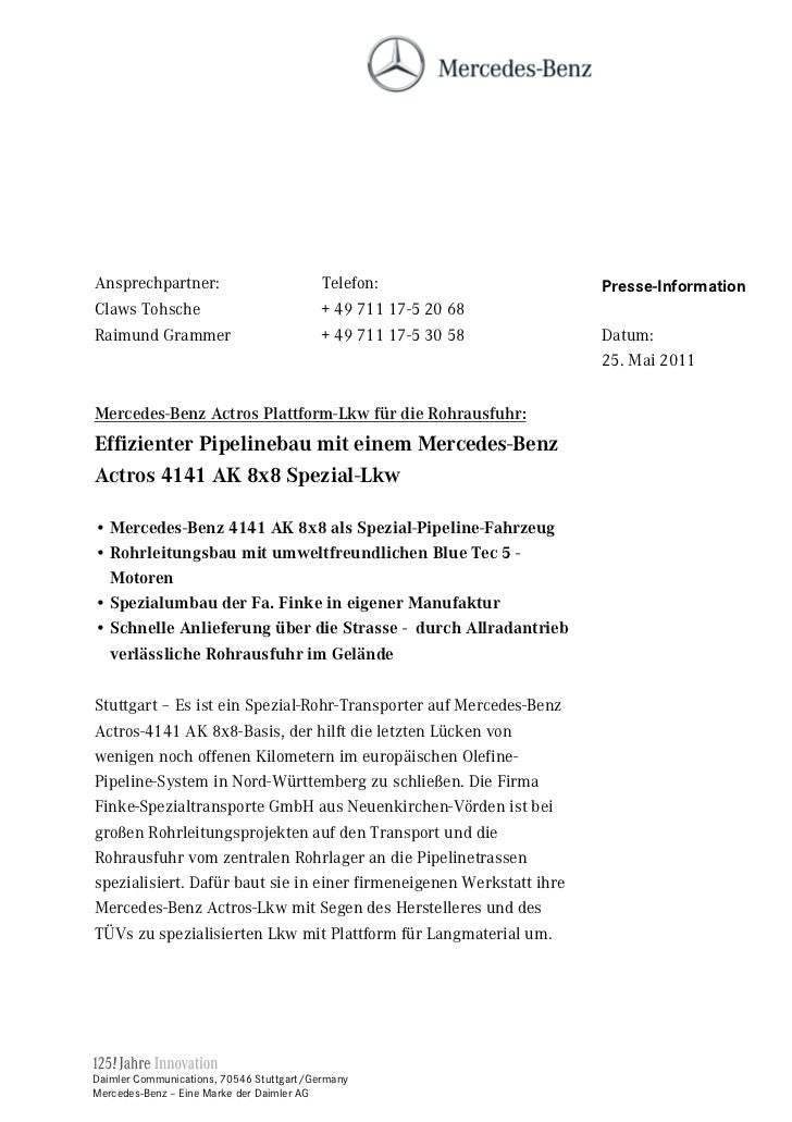 Ansprechpartner:                          Telefon:                    Presse-InformationClaws Tohsche                     ...