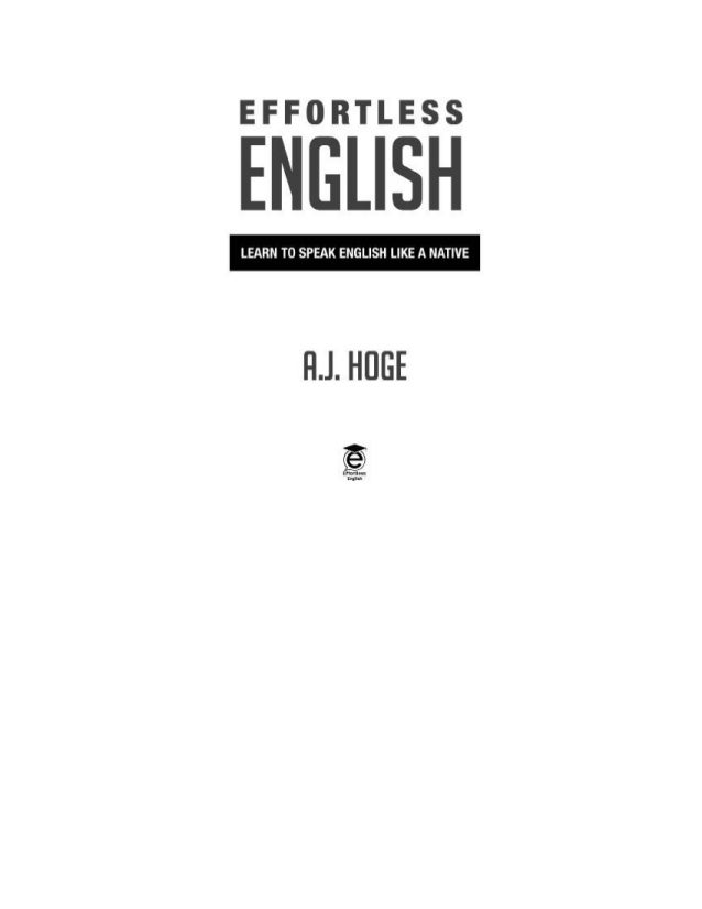 effortless english audio book free