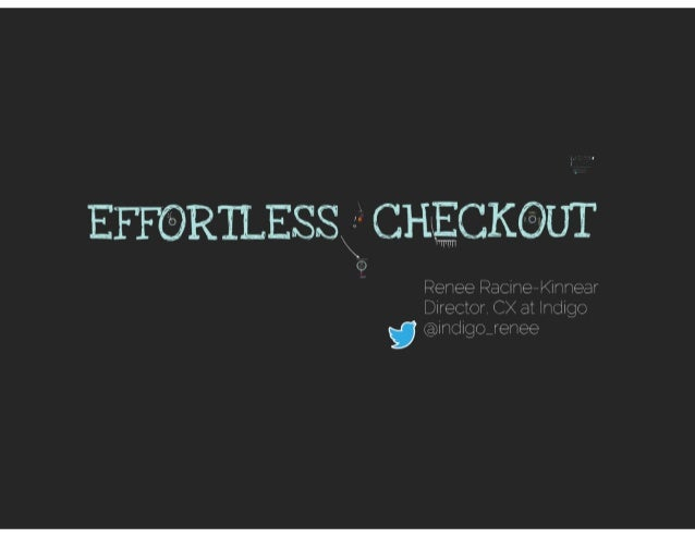 Effortless Checkout