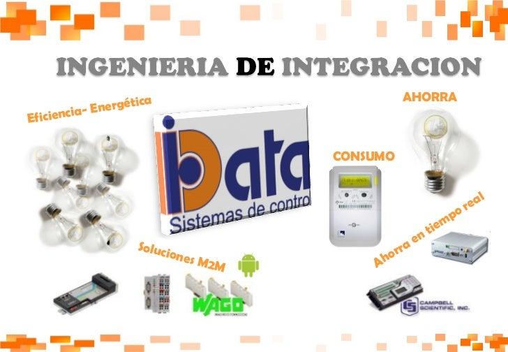 AHORRA CONSUMO Eficiencia- Energética  Ahorra en tiempo real Soluciones M2M