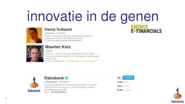 innovatie in de genen1