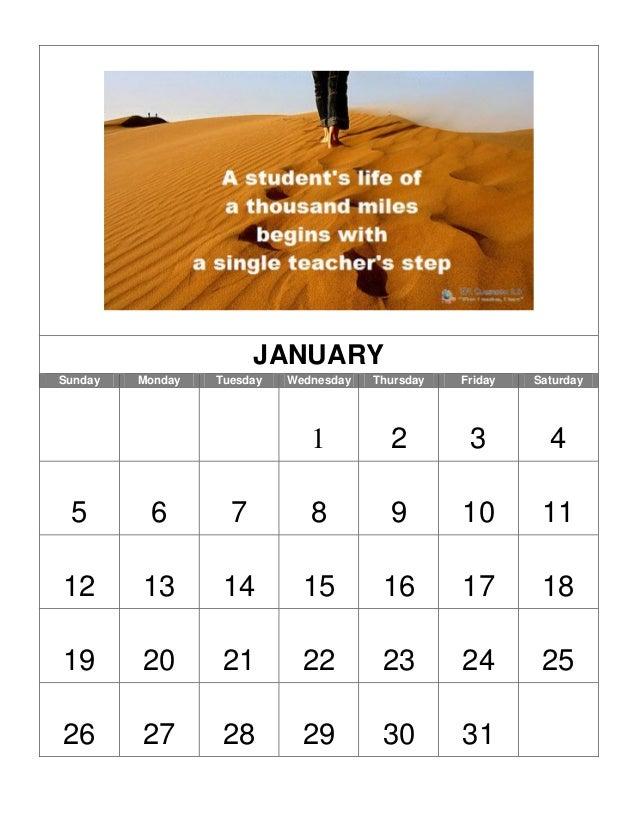 JANUARY Sunday  Monday  Tuesday  Wednesday  Thursday  Friday  Saturday  1  2  3  4  5  6  7  8  9  10  11  12  13  14  15 ...