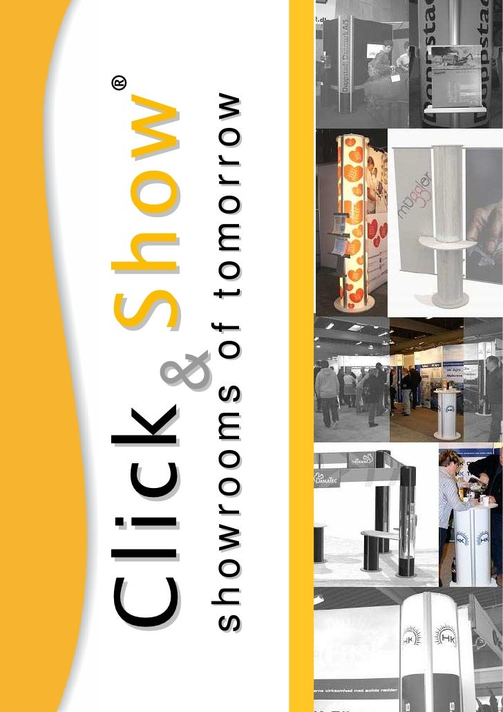 ® Click& Show showrooms of tomorrow