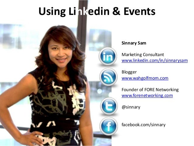 eFolder Webinar, Five Killer Ways to use LinkedIn and Events to Grow Your Business