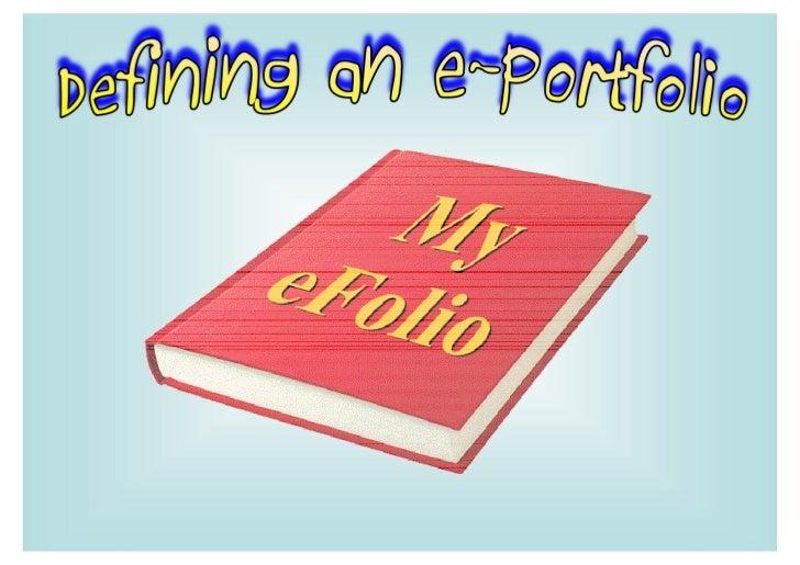 eFolio-1