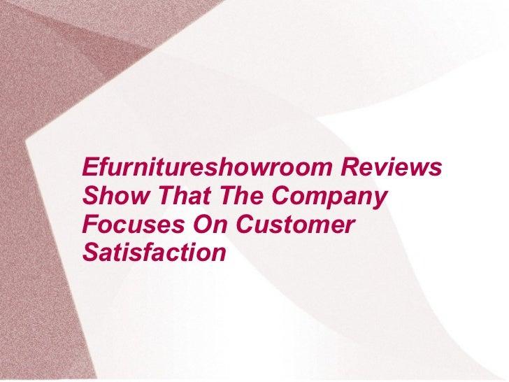 Efurniture Showroom