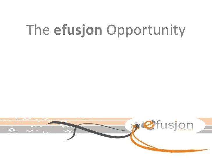 Efusjon Opportunity