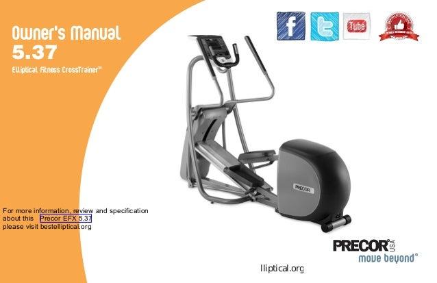 Precor EFX 5.37 premium series