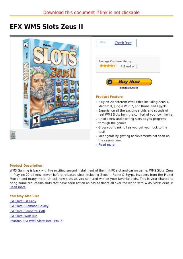 Download this document if link is not clickableEFX WMS Slots Zeus II                                                      ...