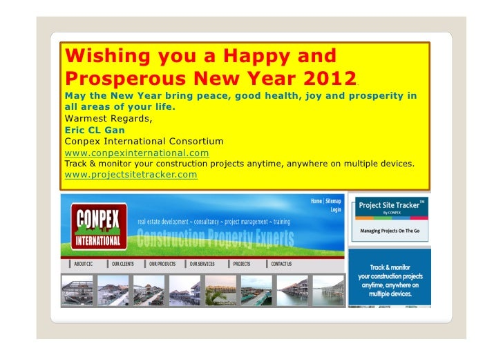 Wishing you a Happy andProsperous New Year 2012                                           .May the New Year bring peace, g...