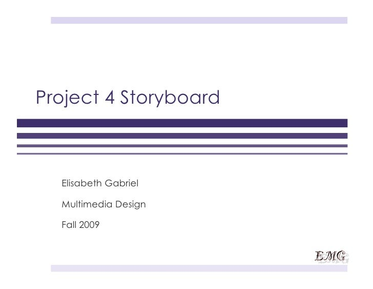 Project 4 Storyboard