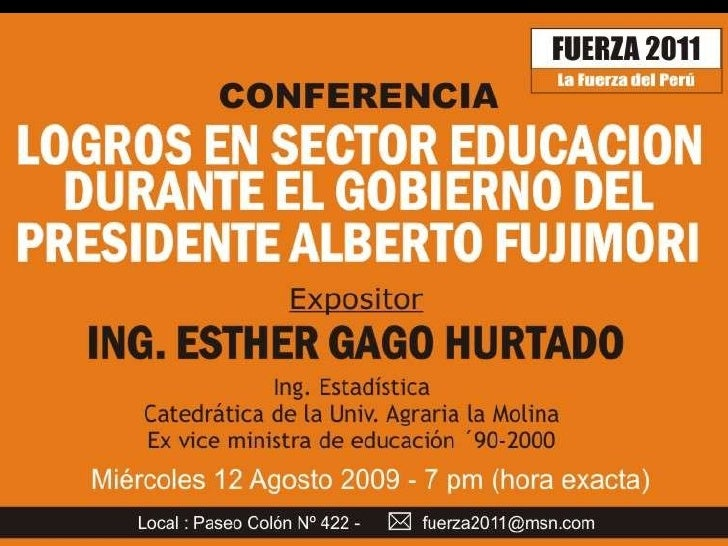 Ing. Esther Gago Hurtado