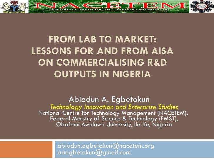 Nigeria's NIS