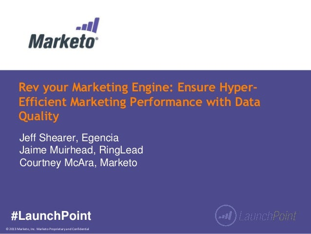 Rev your Marketing Engine: Ensure Hyper-Efficient Marketing Performance with Data Quality