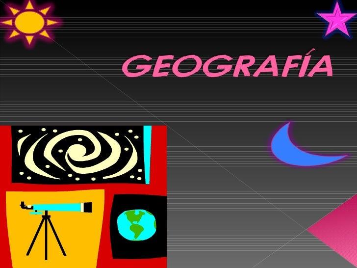 Propósitos y Enfoques de la Geografía