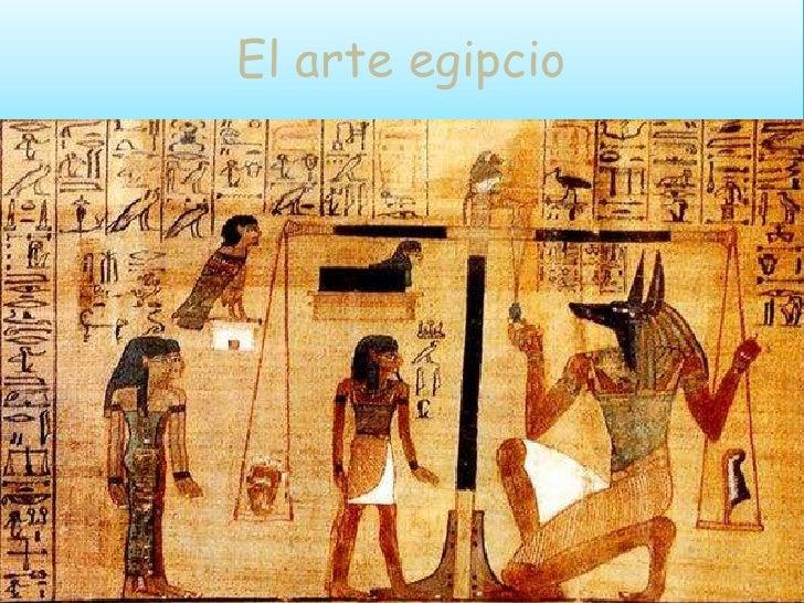 El arte egipcio
