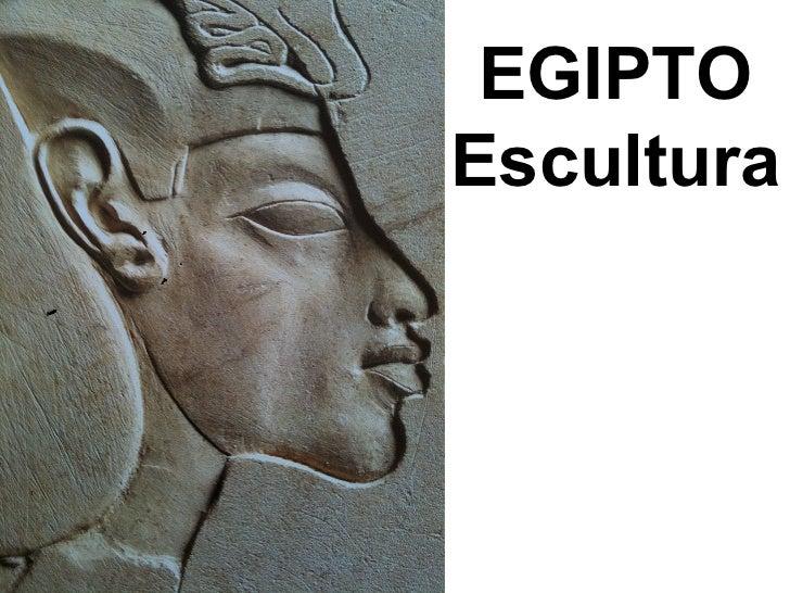 Arte del antiguo Egipto: Escultura