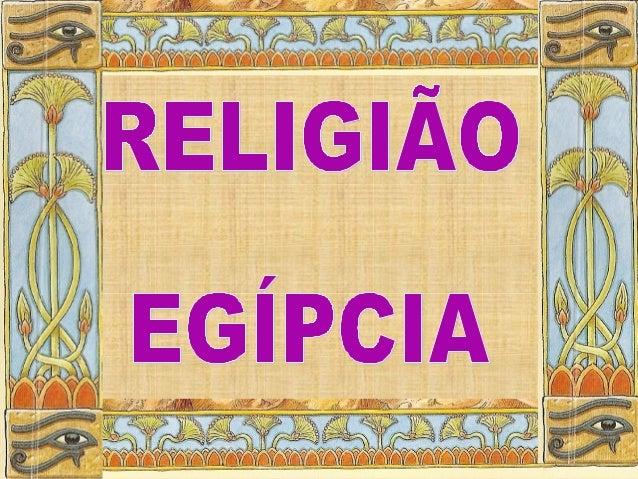 Religião do Egipto