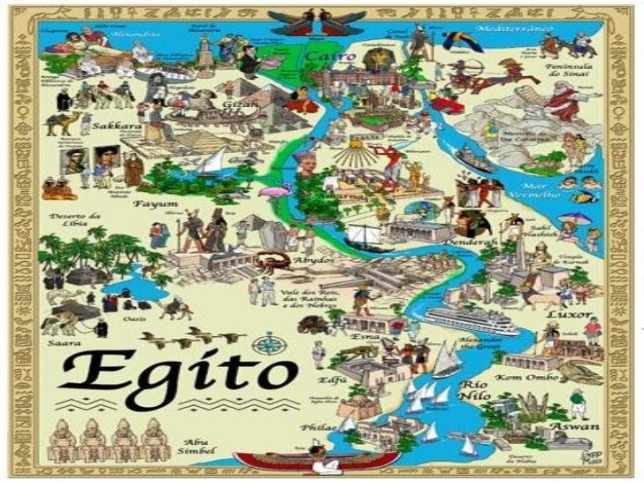 LOCALIZAÇÃO GEOGRÁFICA•O Egito está situado no Nordeste daÁfrica em meio a dois imensosdesertos: o da Líbia e o da Arábia....