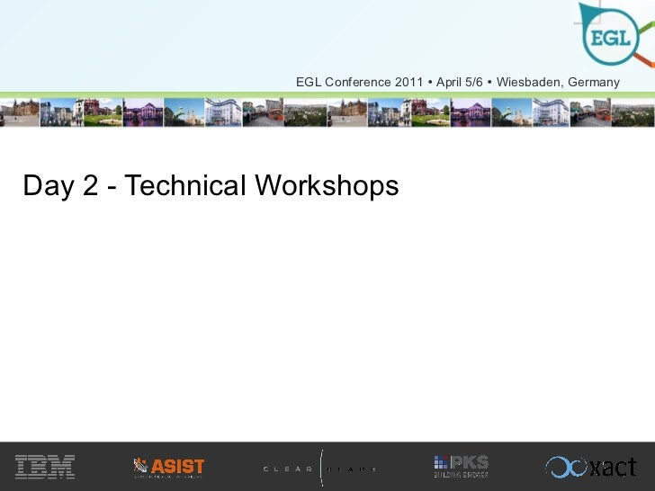 Day 2 - Technical Workshops