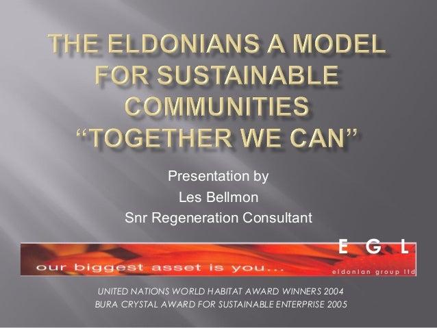 Les Bellmon, Eldonian's Group Ltd