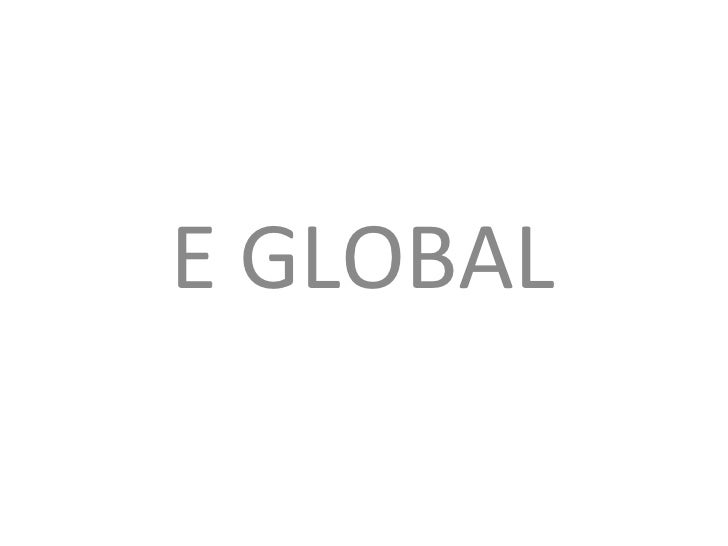 Eglobal