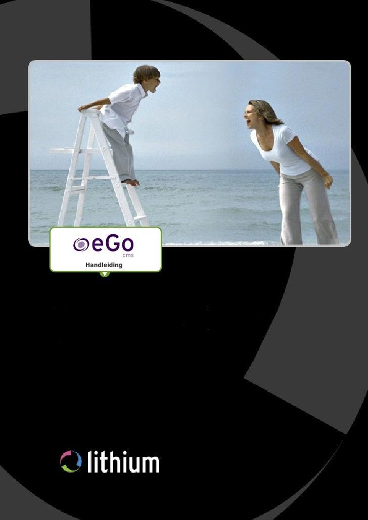 eGo Manual