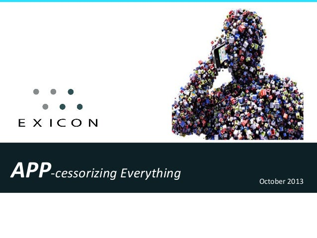 APP-‐cessorizing  Everything    October  2013