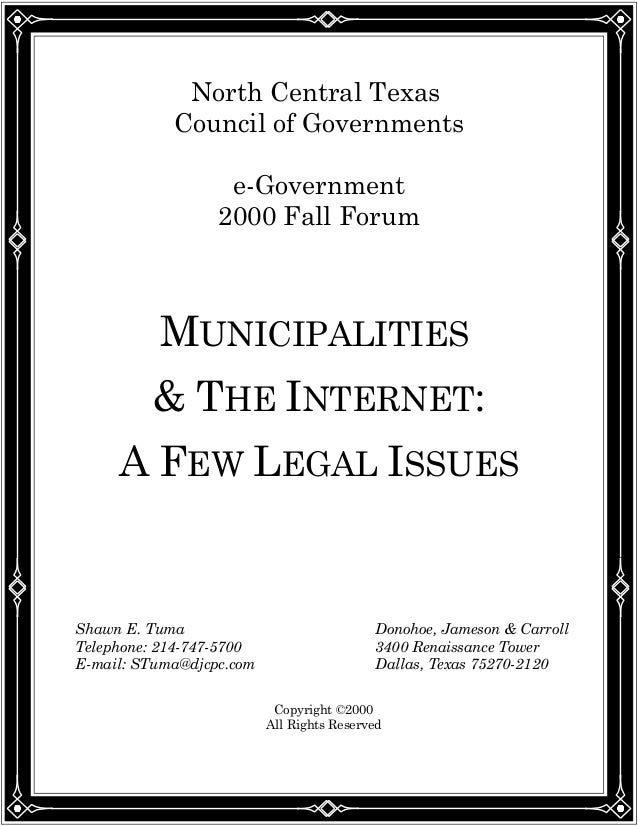 privacy and legal issues on the internet This document examines privacy law through the lens of the internet  to discuss privacy in other legal  internet of things: a privacy law case study.
