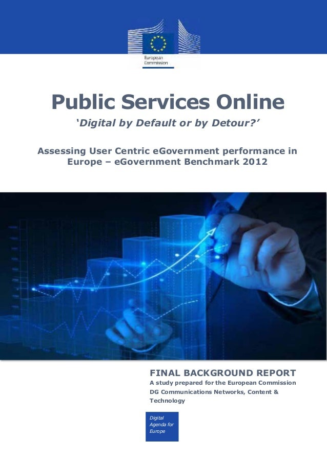 Europe – eGovernment Benchmark 2012   background report