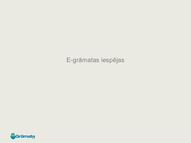 E gramata.lv platformas iespējas