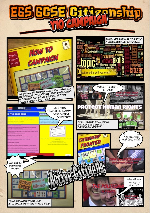 EGS Year 10 Citizenship Coursework