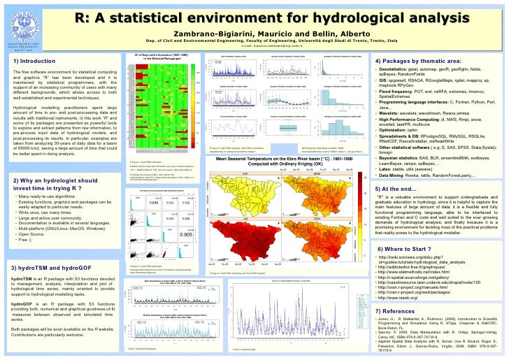 R: A statistical environment for hydrological analysis                                      R: A statistical environment f...