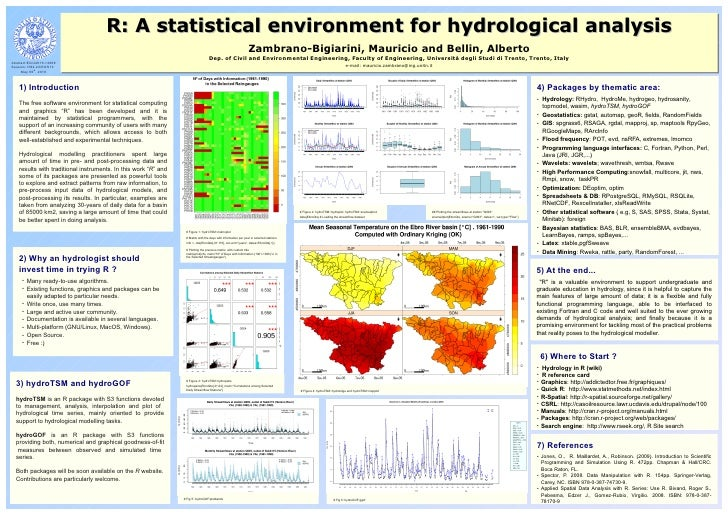 R: A Statistical Environment for doing Hydrological Analysis and Modelling (EGU 2010)