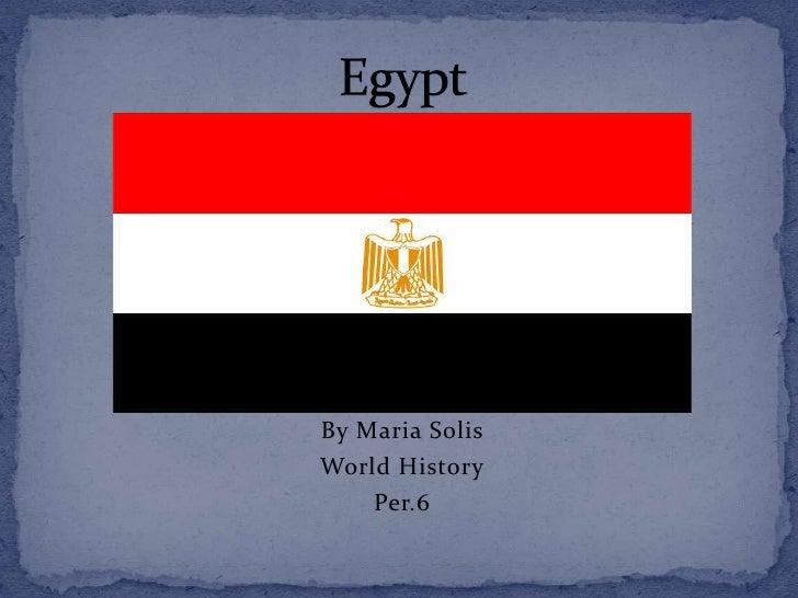 By Maria SolisWorld History    Per.6