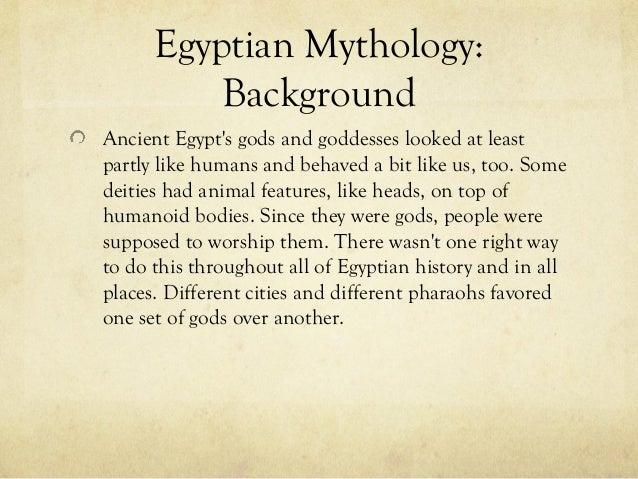 Gods of egyptian mythology