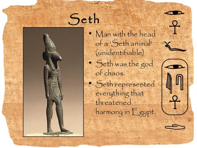Set Egyptian God Symbol