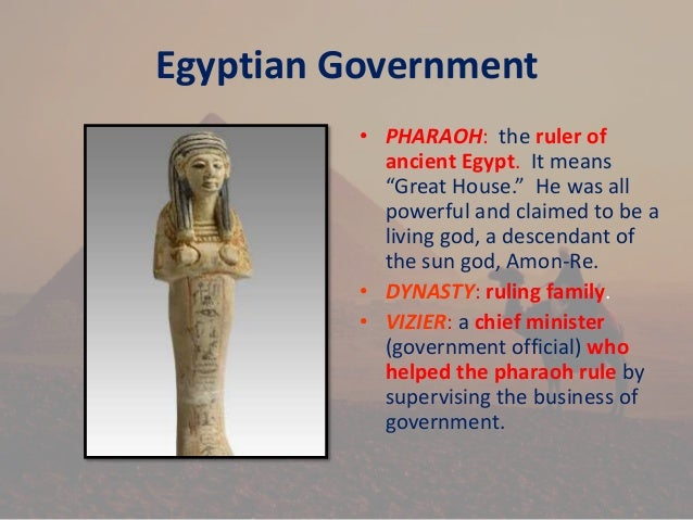 egyptian government essay Will write an essay comparing a few of the civilizations we have learned about  the egyptian government was a monarchy a king ruled it egyptian government.