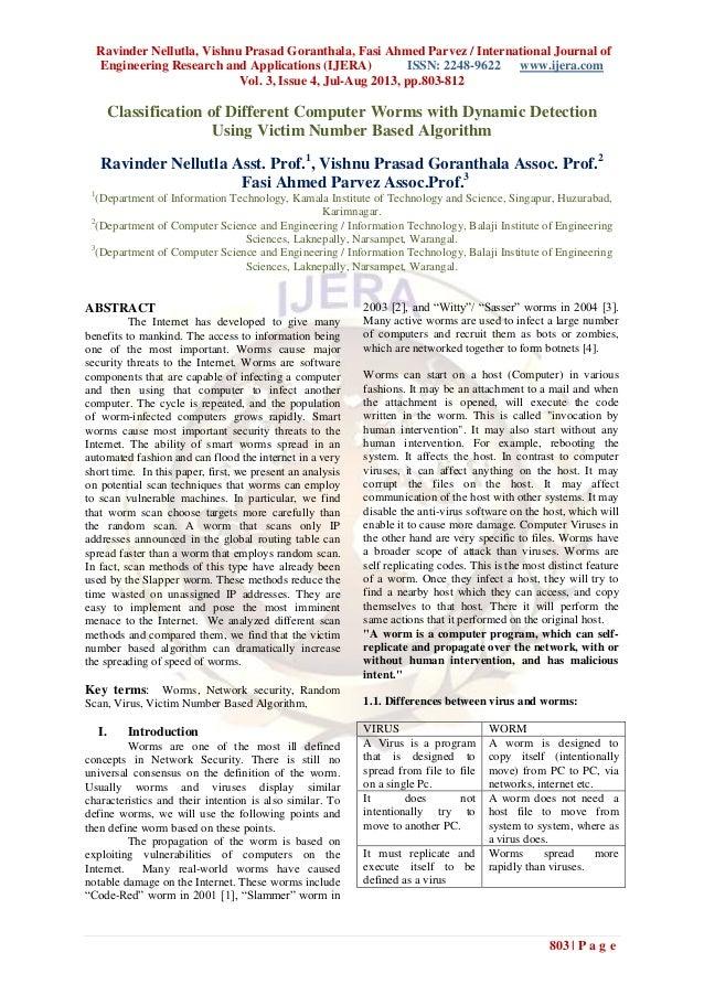 Ravinder Nellutla, Vishnu Prasad Goranthala, Fasi Ahmed Parvez / International Journal of Engineering Research and Applica...