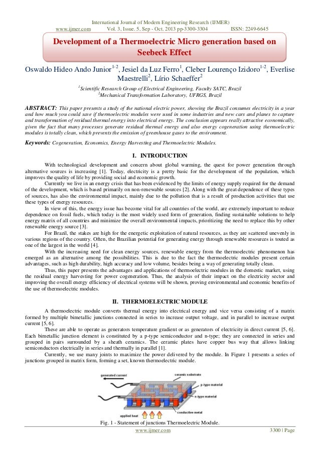 www.ijmer.com  International Journal of Modern Engineering Research (IJMER) Vol. 3, Issue. 5, Sep - Oct. 2013 pp-3300-3304...