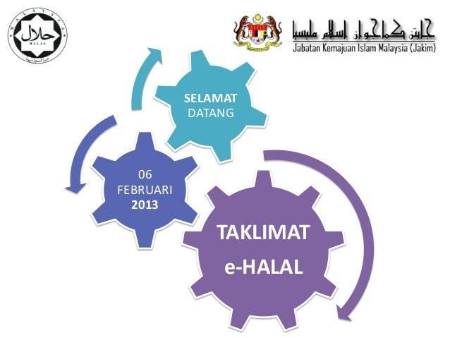 presentation ehalal
