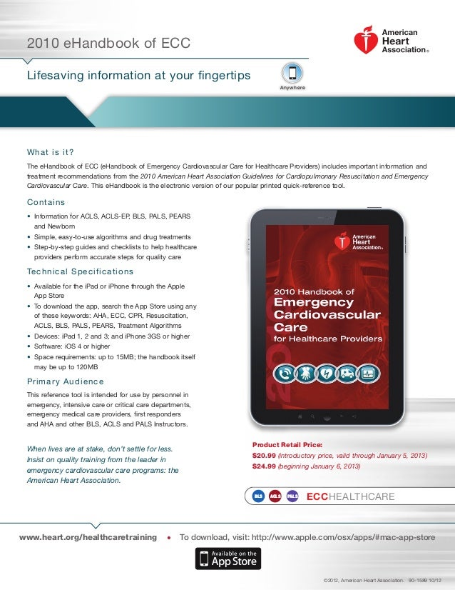 2010 eHandbook of ECC Lifesaving information at your fingertips                                                           ...