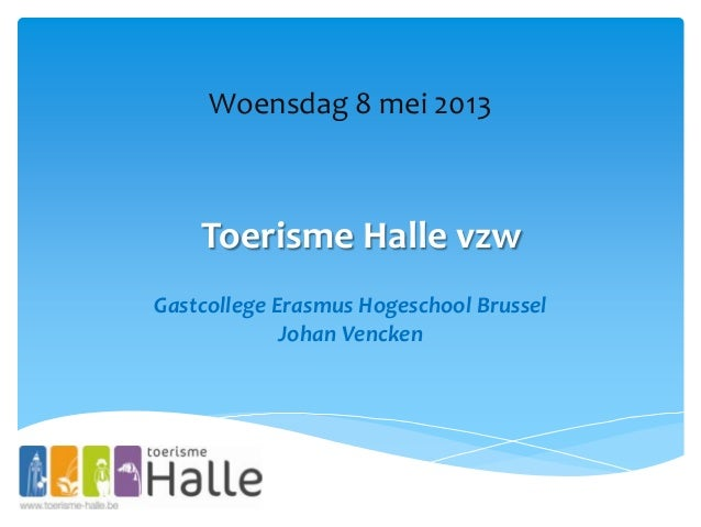 Gastcollege Erasmushogeschool Brussel 8mei2013