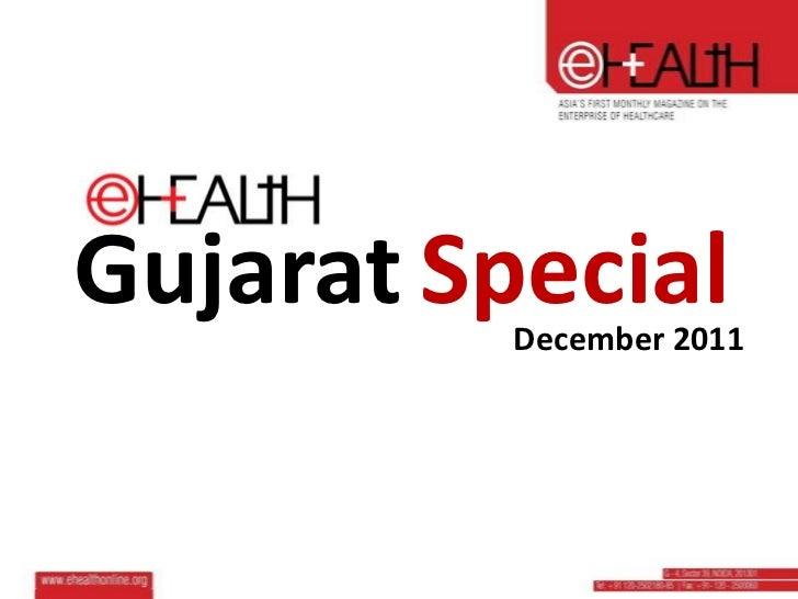 eHEALTH Magazine gujarat-special-issue-december-11