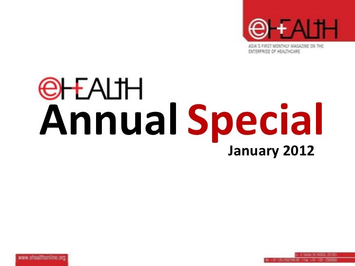 Annual Special         January 2012