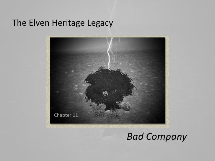The Elven Heritage Legacy          Chapter 11                            Bad Company