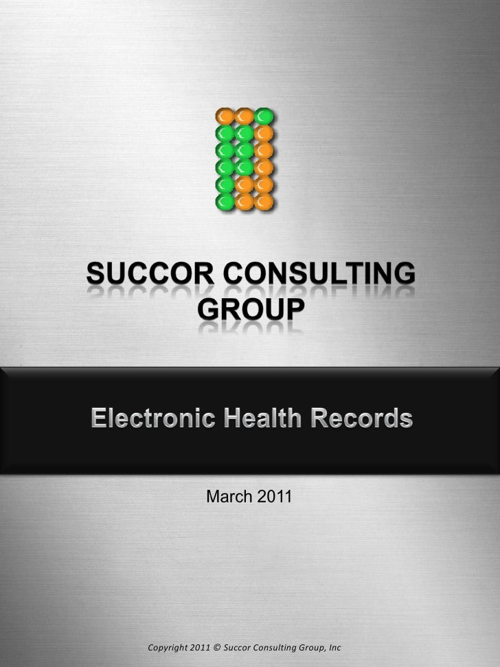 Copyright 2011 © Succor Consulting Group, Inc